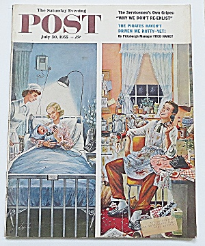 Saturday Evening Post July 30, 1955 Fred Haney
