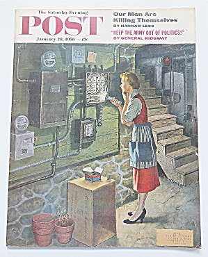 Saturday Evening Post January 28, 1956 General Ridgway