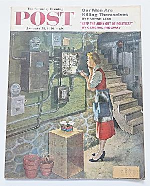Saturday Evening Post January 28, 1956 General Ridgway (Image1)