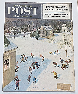 Saturday Evening Post February 4, 1956 Ralph Edwards