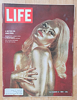 Life Magazine November 6, 1964 James Bond's Goldfinger