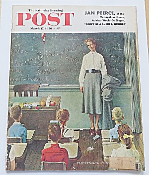 Saturday Evening Post March 17, 1956 Jan Peerce
