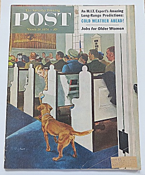 Saturday Evening Post March 24, 1956 Cold Weather