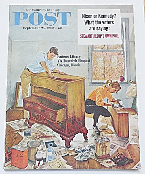 Saturday Evening Post September 24, 1960