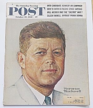 Saturday Evening Post October 29, 1960 Kennedy