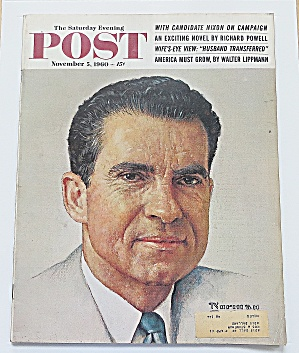 Saturday Evening Post November 5, 1960 Nixon