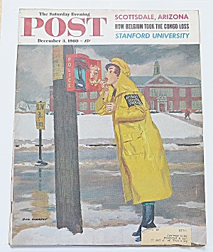 Saturday Evening Post December 3, 1960 Stanford Univer.
