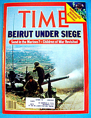Time Magazine-July 19, 1982-Beirut Under Siege (Image1)
