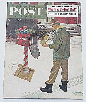 Saturday Evening Post December 17, 1960 Eastern Shore