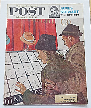 Saturday Evening Post February 11, 1961 James Stewart