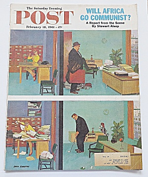Saturday Evening Post February 18, 1961 Africa