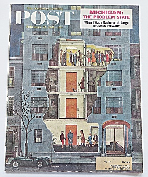 Saturday Evening Post February 25, 1961 Michigan