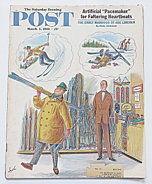 Saturday Evening Post March 4, 1961 Abe Lincoln (Image1)