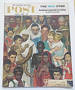 Saturday Evening Post April 1, 1961 New Utah