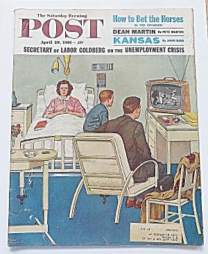 Saturday Evening Post April 29, 1961 Dean Martin (Image1)