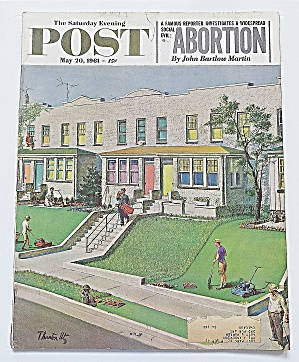 Saturday Evening Post May 20, 1961 Abortion