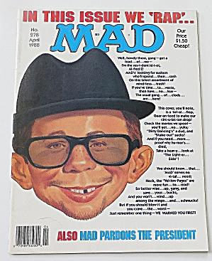 Mad Magazine April 1988 #278 We Rap (Image1)
