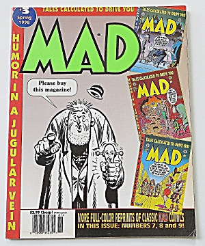 Mad Magazine Spring 1998 Tales Calculated To Drive You