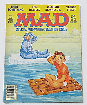Mad Magazine April 1989 #286 Mid Winter Vacation