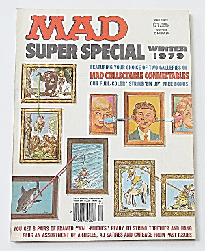 Mad Magazine Winter 1979 Super Special