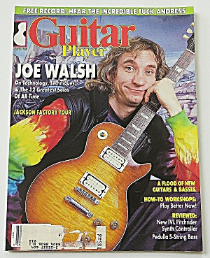 Guitar Player April 1988 Joe Walsh