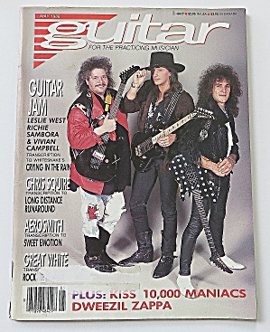 Guitar Magazine May 1988 Guitar Jam