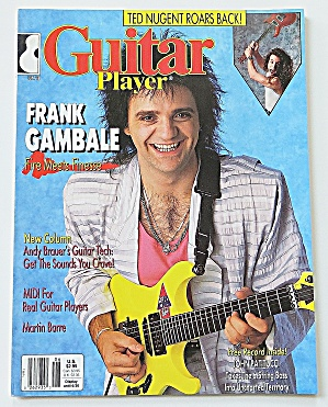 Guitar Player Magazine June 1988 Frank Gambale