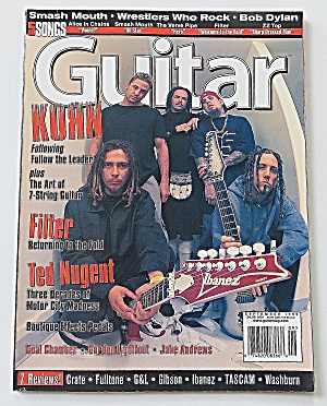 Guitar Magazine September 1999 Korn