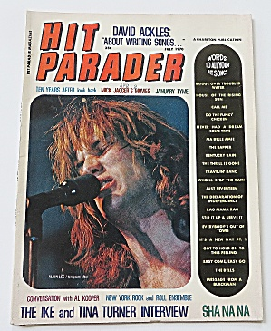 Hit Parader July 1970 David Ackles