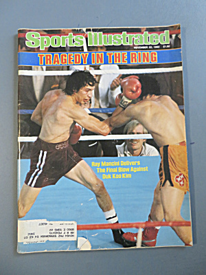 Sports Illustrated November 22, 1982 Ray Mancini