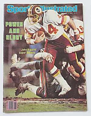 Sports Illustrated February 7, 1983 John Riggins