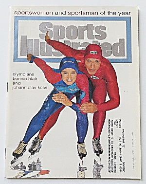 Sports Illustrated December 19, 1994 Blair & Koss