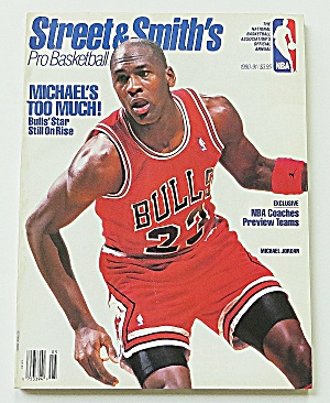 Street & Smith's Pro Basketball Magazine 1990-1991