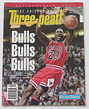Chicago Bulls Three-peat 1993 Michael Jordan
