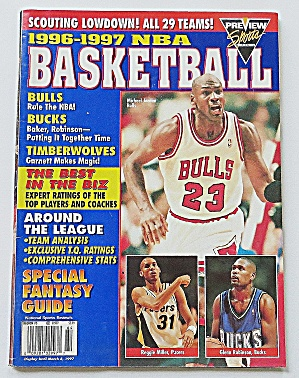 Nba Basketball 1996-1997 Bulls, Bucks & More
