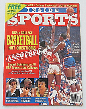 Inside Sports December 1989 Nba & College Basketball