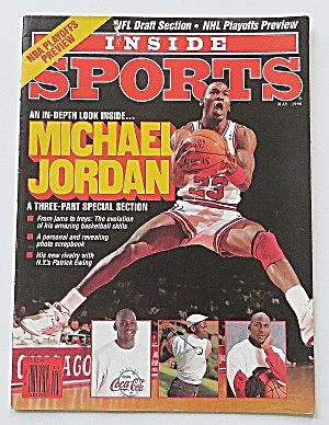 Inside Sports May 1990 Michael Jordan