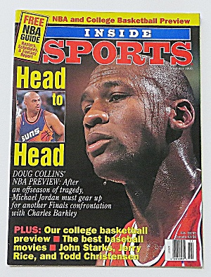 Inside Sports November 1993 Michael Jordan:head To Head