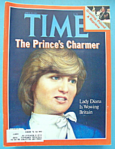Time Magazine - April 20, 1981 - Prince's Charmer