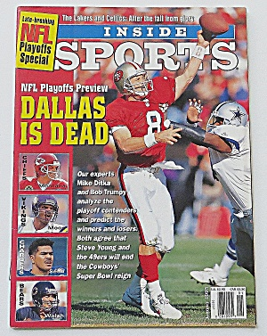Inside Sports January 1995 Dallas Is Dead