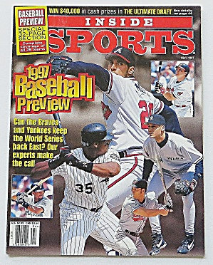 Inside Sports April 1997 Baseball Preview