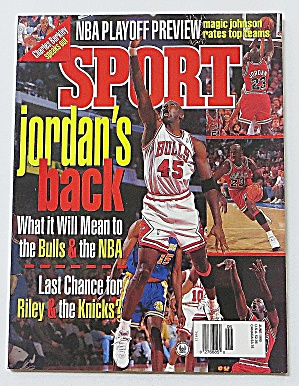 Sport Magazine June 1995 Michael Jordan's Back