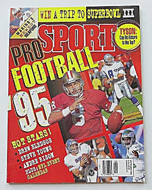Sport Magazine September 1995 Pro Football '95