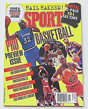 Sport Magazine November 1995 Pro Basketball