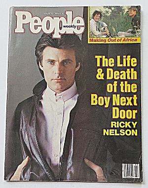 People Weekly Magazine January 20, 1986 Ricky Nelson