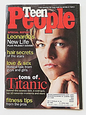Teen People Magazine May 1998 Leonardo Di Caprio (Image1)