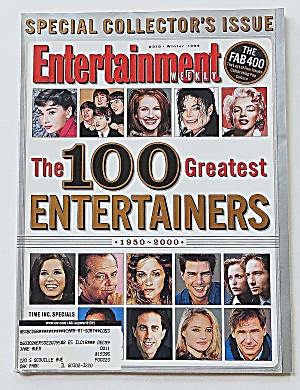 Entertainment Weekly Winter 1999 100 Great Entertainers