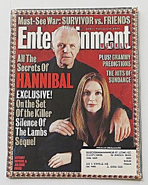 Entertainment February 9, 2001 Hannibal (Image1)