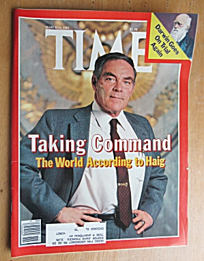 Time Magazine-march 16, 1981-world According To Haig