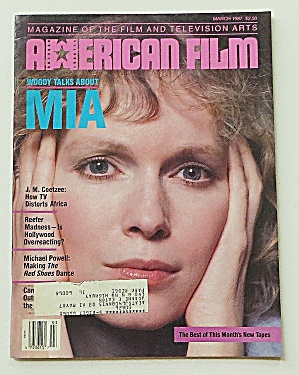 American Film March 1987 Woody Talks About Mia